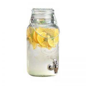 Dispenser para Bebidas de Vidrio con Canilla 3,6 lts.