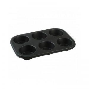 Molde de silicona para muffing o cupcake grande. 6 piezas