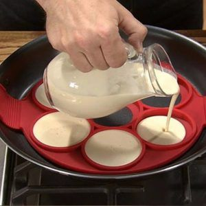 Molde pancake silicona 7 círculos