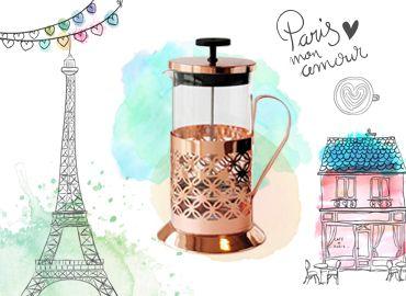 El revival de la cafetera francesa