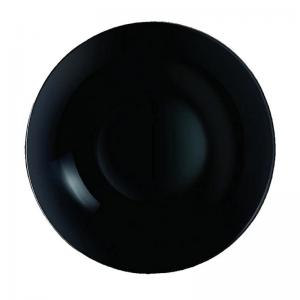 Plato Hondo Noir de 20cm Línea Diwali Set x 6 Unidades