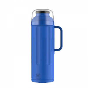 Termo Personal con Pico Matero 1 Litro Color Azul