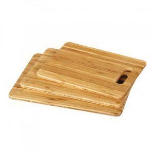 Tabla de Picar de Bamboo 30x21x1cm